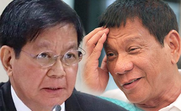 Lacson to Duterte: Bahala ka na, hindi ka naman tinatablan ng advice