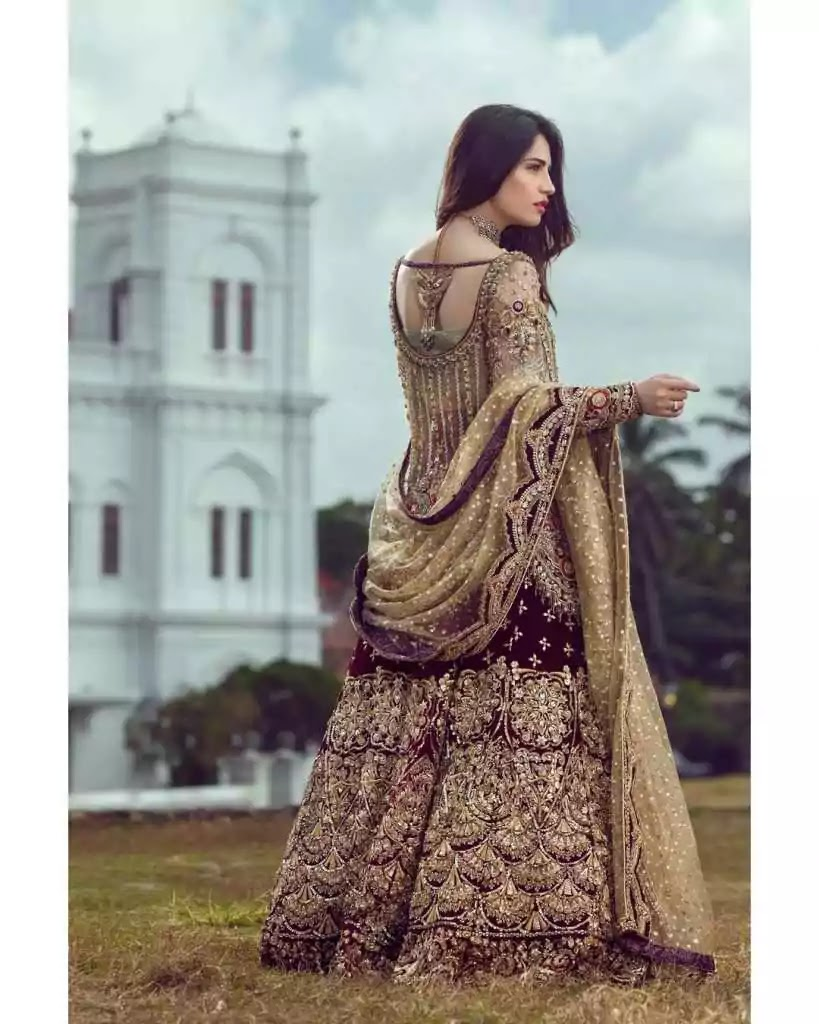 Stunning Bridal Photoshoot of Neelam Muneer