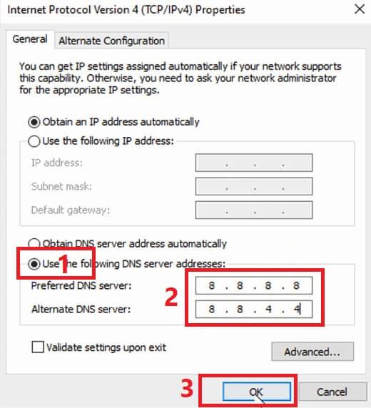 حل مشكلة إنقطاع الانترنت المتكرر في ويندوز 10 انقطاع النت بشكل مستمر الحل النهائي