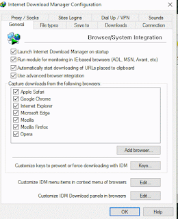 Internet Download Manager Configuration Checked