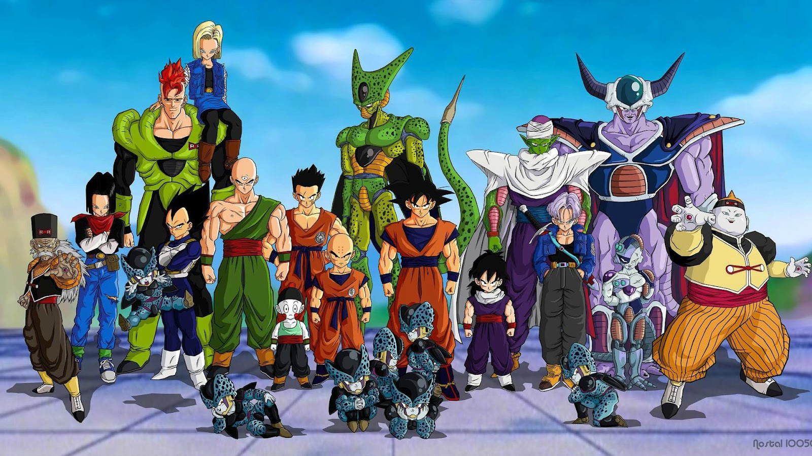 This time we've got some amazing dragon ball z wallpapers for iphone. Anime Wallpapers: Dragon Ball Z (Wallpaper)