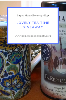 Tea Time Giveaway banner