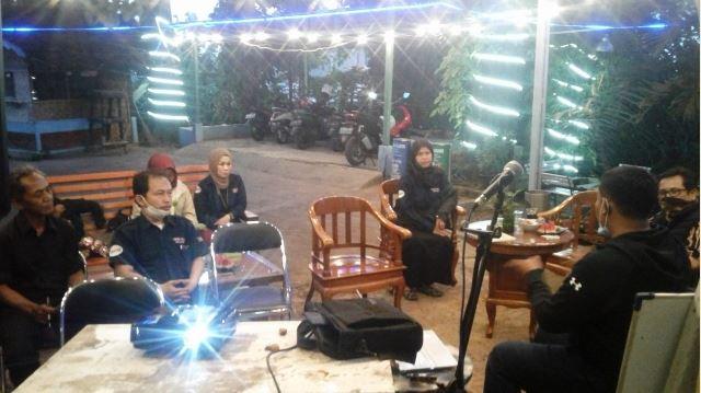 RKSB Maja FM Gelar Pembekalan Penyiar tentang Radio Komunitas