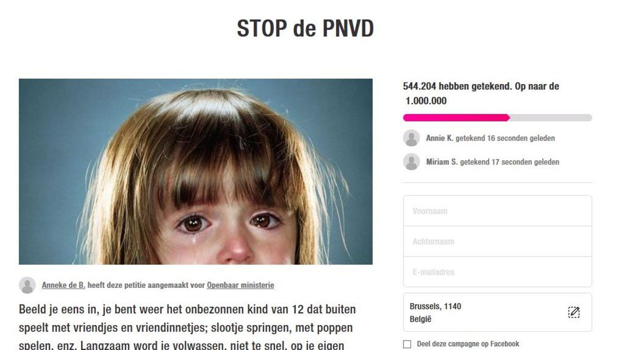 """Aux Pays-Bas : la refondation du parti """" pédophile """" suscite un véritable tollé!"""