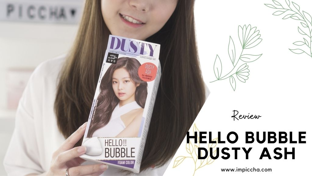 Hello bubble dusty ash