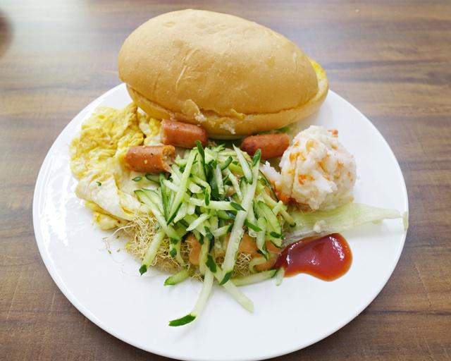 美素園薯泥潛艇堡