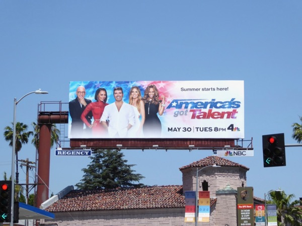 Americas Got Talent season 12 billboard