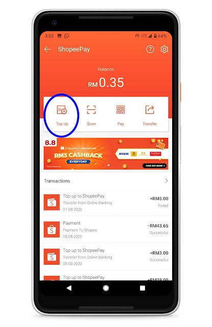 Ikuti Langkah Mudah Ini Cara Keluarkan Duit Cash Dari eWallet Anda