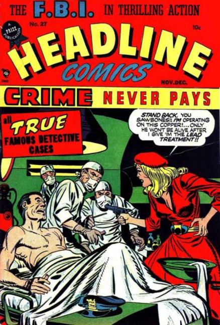 Simon-Kirby Headline Comics