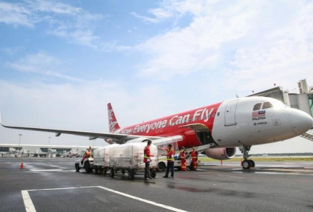 Teleport oleh airasia Memperkukuh Laluan Utama dengan Pesawat Kargo 737-800 dan Pesawat Penumpang A320 yang ditukar kepada Karg
