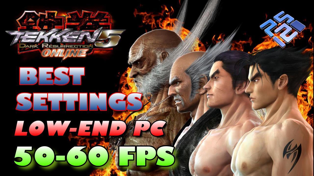Best Settings for Tekken 5 PCSX2 (PS2) Low-End PC