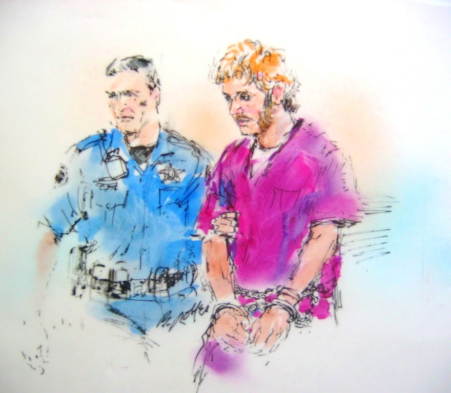 Colorado Shooting Suspect Attended Kittatinny: ILLUSTRATED COURTROOM: Judge Orders Arraignment For