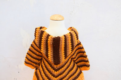 2 - Crochet Imagen Capucha para poncho de otoño a crochet por Majovel Crochet