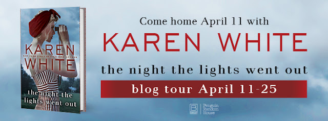 Karen White blog banner