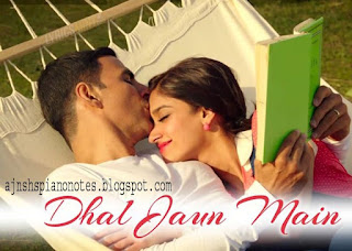 Dhal Jaun Main Sargam Piano Notes Rustom Full