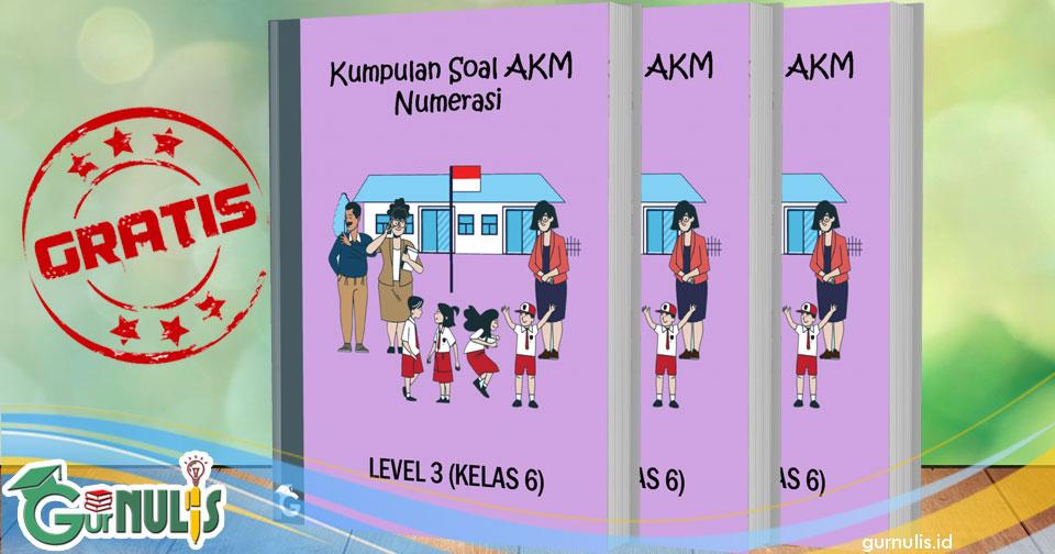 Kumpulan Soal Akm Numerasi Level 3 Kelas 6 Gurnulis