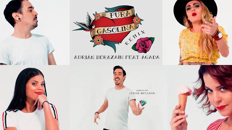 Adrián Berazaín & Ágada - ¨Pura Gasolina¨ - Videoclip - Director: Adrián Berazaín. Portal Del Vídeo Clip Cubano. Música cubana. Pop Rock, Cuba.