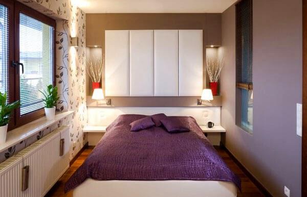 Foto 40 Idea Bilik Tidur Kecil Untuk Buatkan Rumah Anda Kelihatan Besar