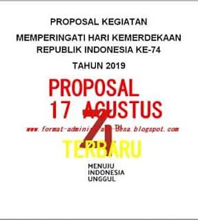 Contoh Proposal 17 Agustus Hut Ri Ke 71 Format Microsoft Word Berkas Pendidikan