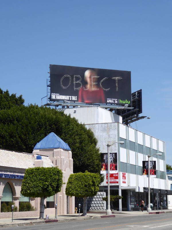Handmaids Tale TV series billboard
