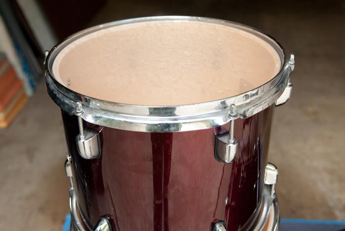heygreenie 5 piece pdp drum set suzanne r sold. Black Bedroom Furniture Sets. Home Design Ideas