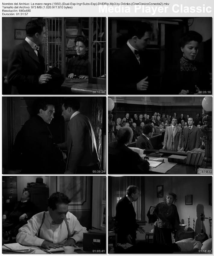 ImagenLa mano negra (AKA: La mafia de la mano negra) | 1950 | Black Hand | Gene Kelly