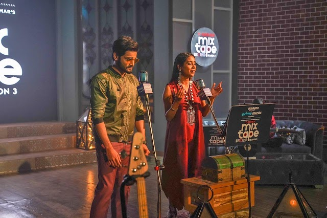 Shilpa Rao & Yasser Desai's soulful vocals enthrall in the 3rd Season of Bhushan Kumar' T -Series' MixTape Rewind, presented by Amazon Prime Music!