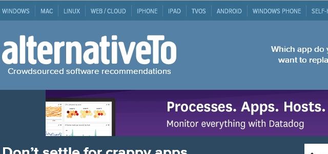 AlternativeTo - Solo Nuevas