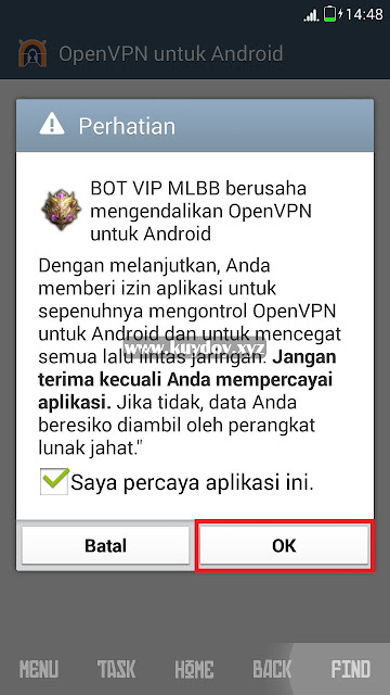 Aplikasi Auto Bot VIP Mobile Legends Patch Terbaru