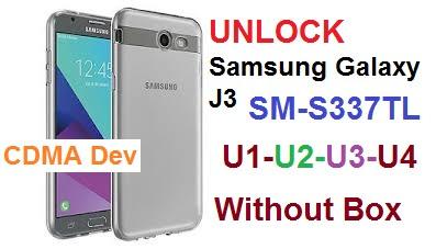 UNLOCK SM-S337TL U1-U2-U3-U4