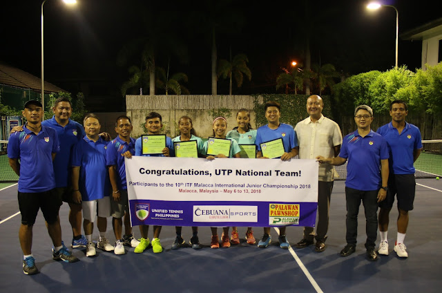 Unified Tennis Philippines National Team To Compete in ITF Malaysia
