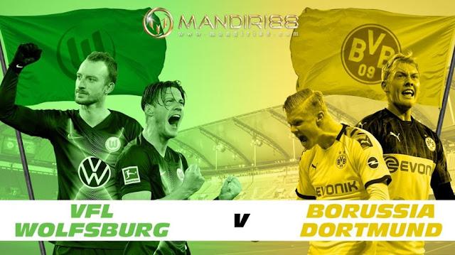 Prediksi VfL Wolfsburg Vs Borussia Dortmund, Sabtu 23 Mei 2020 Pukul 20.30 WIB @ Mola TV