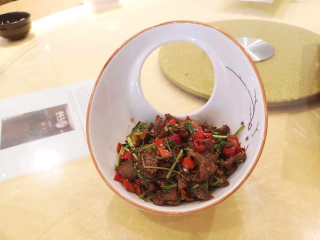 Hunan Style Stir Fried Beef