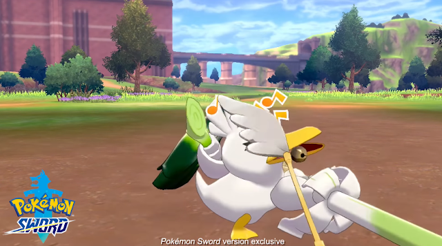 Pokémon Sword Sirfetch'd leek slash at player Farfetch'd evolution
