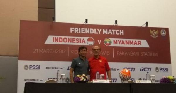 Sore Nanti, Timnas Myanmar Senior Hadapi Timnas Indonesia U-22