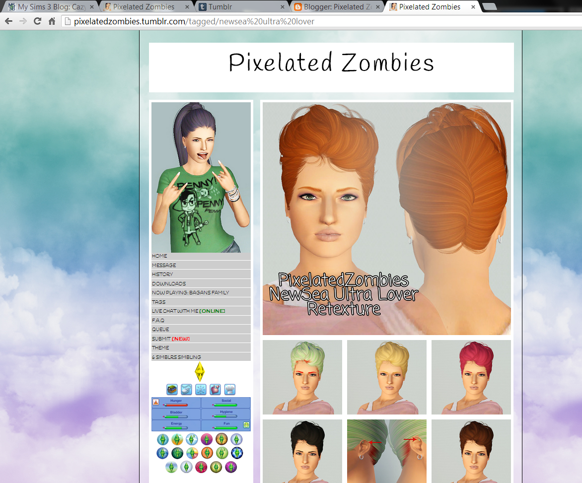 Sims 3 tutorials: May 2013