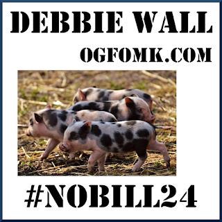 Square Peg - Debbie Wall - #NoBill24