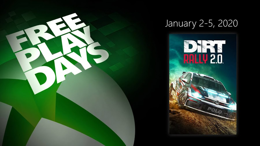 dirt rally 2.0 xbox live gold free play days event rally racing simulator codemasters