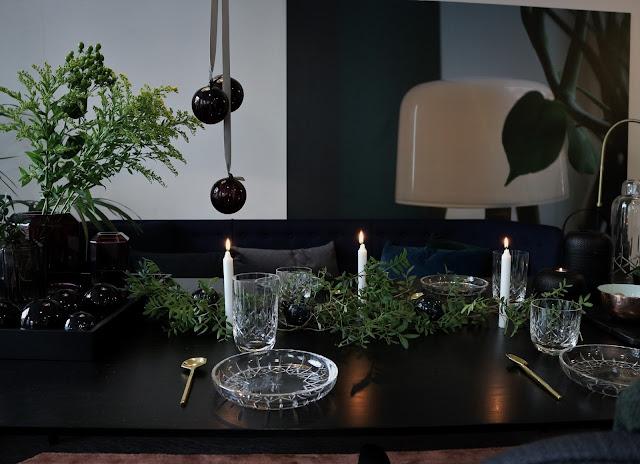 Noël / Christmas / Vaisselle / Cristal / 6 / Louise Roe Copenhagen /