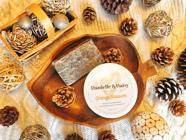 DANIELLE & DAISY - ORANGE BLOSSOM BODY BUTTER & CITRONELLA - AFRICAN BLACK SOAP