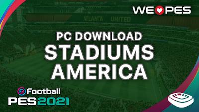 Stadiums PC | America | Download | PES 2021