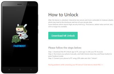 Mi unlock