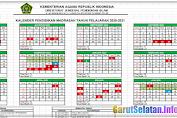 Unduh Kalender Pendidikan Madrasah Tahun Pelajaran 2020/2021