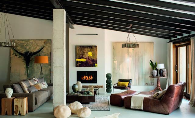 La casa mallorquina de un reconocido pintor chicanddeco