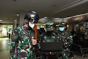 TNI AD Gunakan Helmet Thermal KC Wearable Untuk Deteksi COVID-19