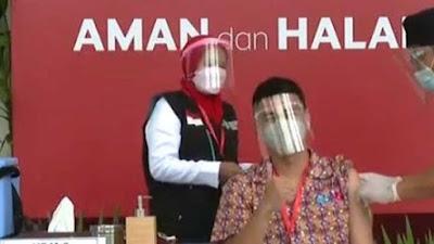 Selain Jokowi, Raffi Ahmad Terima Vaksin Hari Ini