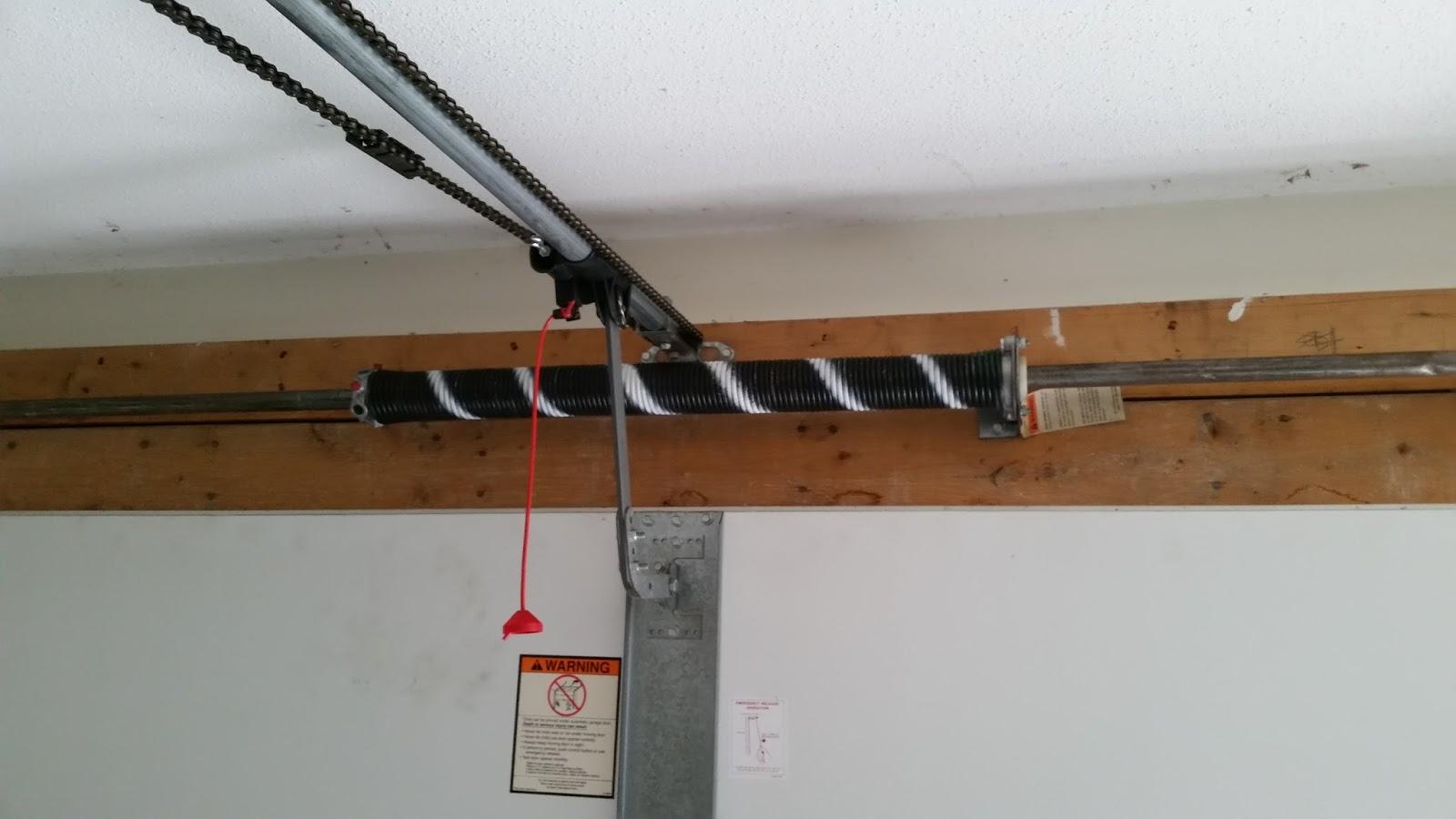 Garage door spring replacement garage door torsion spring supply - Viking Pundit Not For The Faint Of Heart