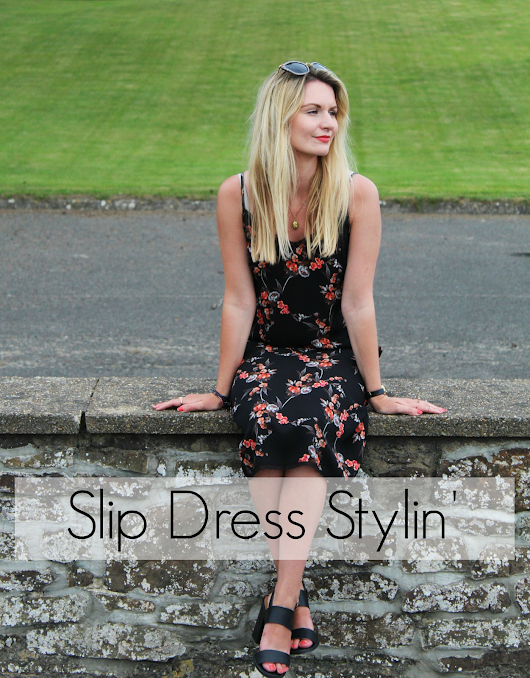 OUTFIT | Slip dress
