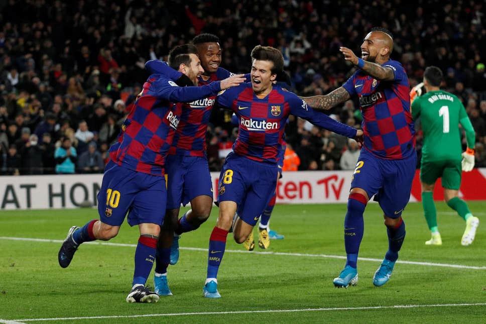 Barcelona gọi 9 cầu thủ đội B lên đấu Napoli