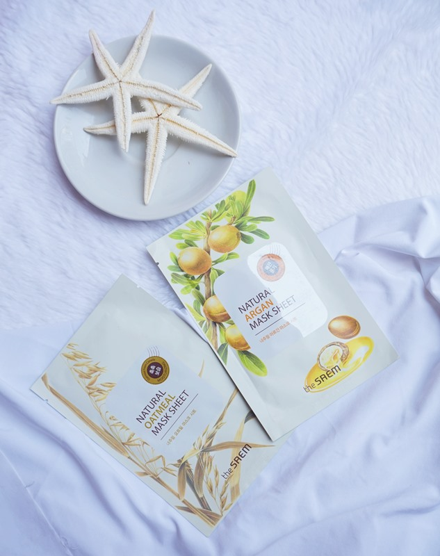 The Saem Natural Oatmeal Mask Sheet, korean sheet mask